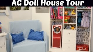 Ag Doll House Tour (living Room Set) Overview For American Girl Dolls