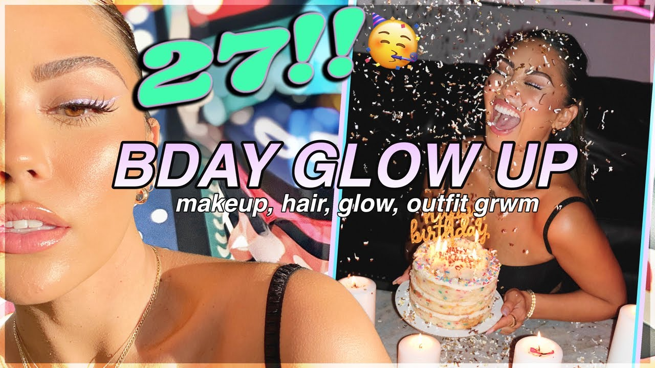 Download BIRTHDAY GLOW UP 2020🥳 grwm makeup, hair, glow, outfit!!   Roxette Arisa
