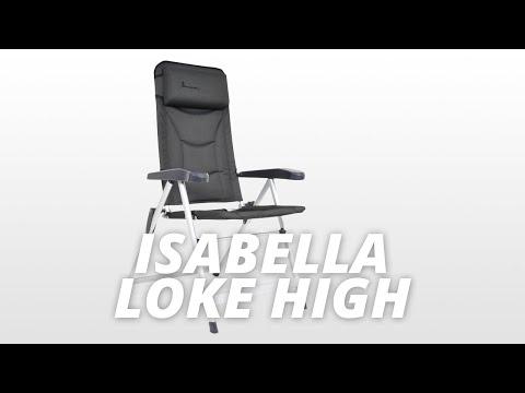 Isabella Loke High Back standenstoel