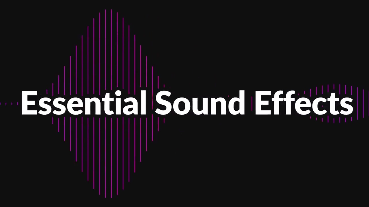 Essential Sound Effects for Animation Composer V2