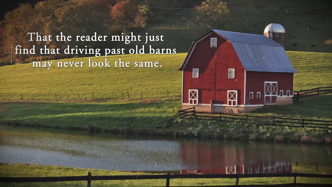Old Barns Red Barns And The Stories They Tell By Sandy Black Youtube