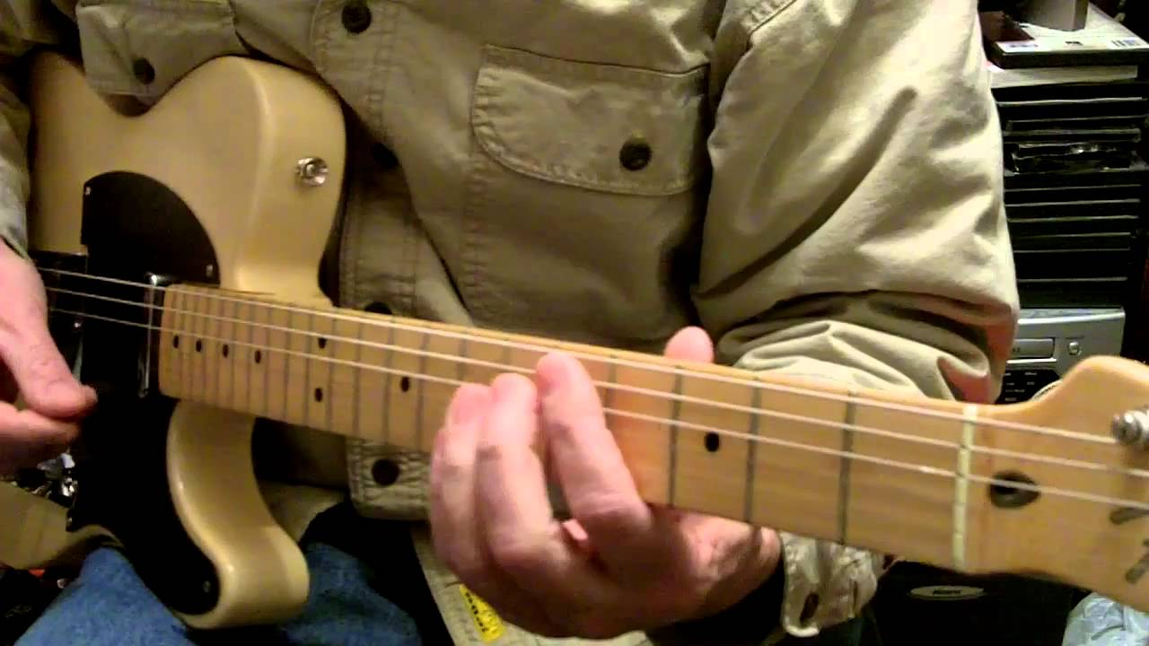 How To Play Amarillo By Morning Guitar Chords Youtube