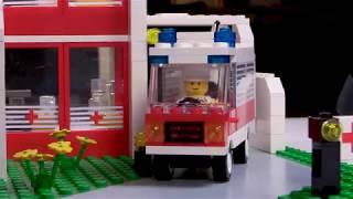 Vintage Lego Speed Build - Emergency Treatment Center - Set 6380