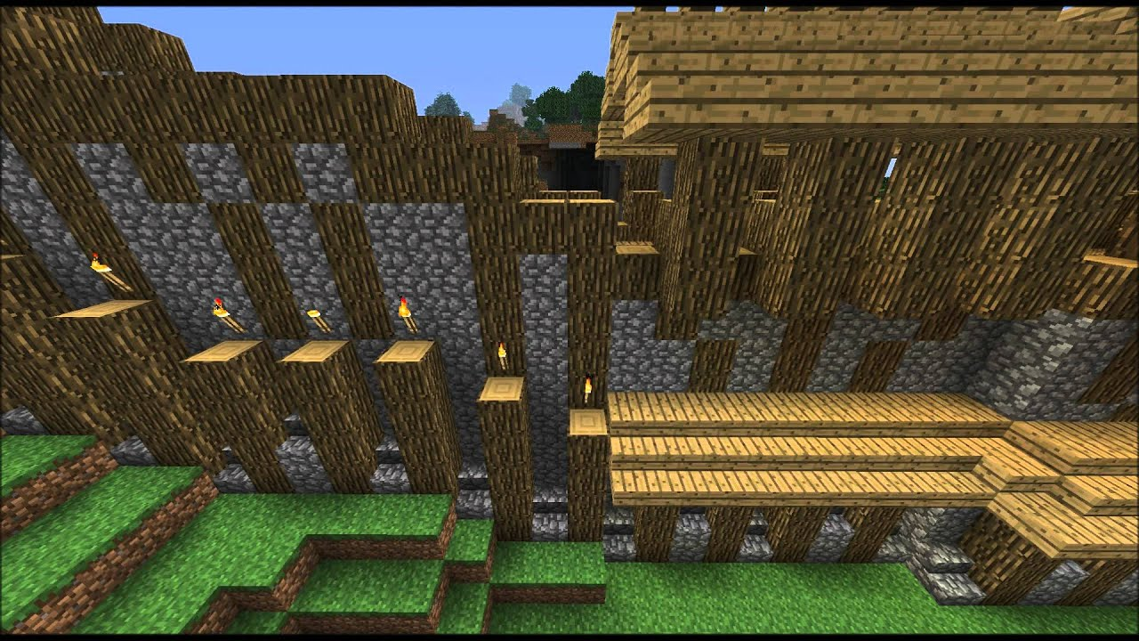 how to make a wall in minecadft