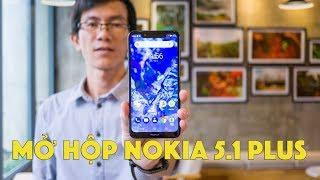 Mở hộp Nokia 5.1 Plus: Smartphone giá rẻ, thiết kế đẹp, đáng mua nhất năm 2018   LKCN