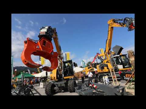 Liebherr - Internationale Forstmesse Luzern 2017