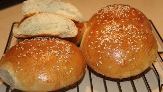 Home Made Hamburger Buns /rolls From Scratch (light & Soft)