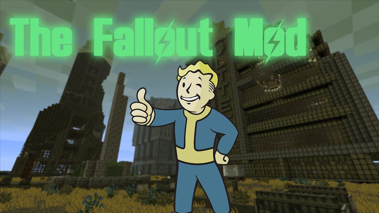 Мод Fallout 1.8 1.7.10 | Моды Майнкрафт