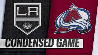 01/19/19 Condensed Game: Kings @ Avalanche