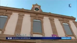 JT 19h F3 Quercy-Rouergue 07/12/17 - La ligne SNCF Millau - Rodez ferme ce samedi 9 ...