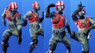 Fortnite WINGMAN STARTER PACK Performs All Dances Season 1-4