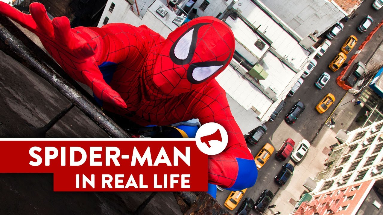 Spider-Man In Real Life