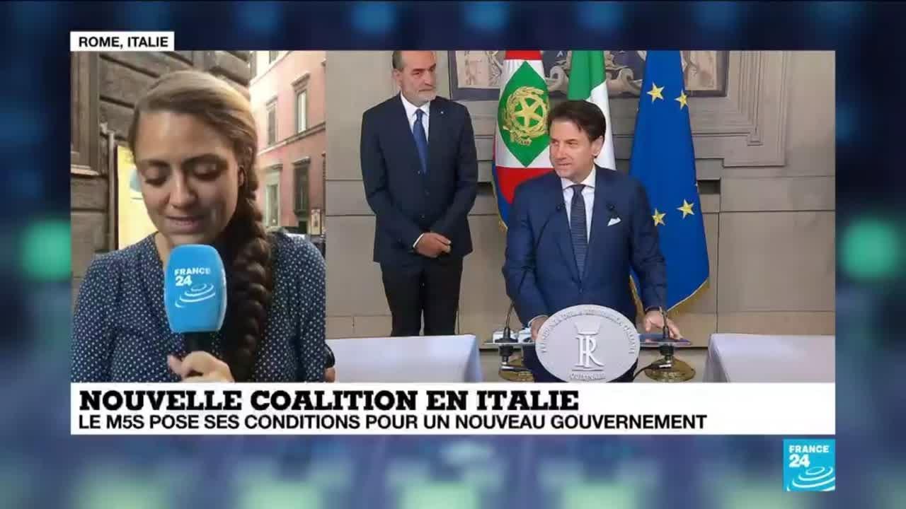 Italie Le Mouvement 5 Etoiles Pose Des Conditions Pour Un Nouveau Gouvernement