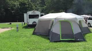 Indiana Turkey Run Stąte Park Campground