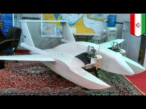 Iran 'suicide drone': Photos released by Iranian navy show maritime surveillance UAV - TomoNews