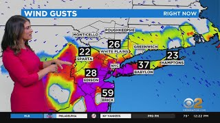 New York Weather: Tropical Storm Isaias Arrives With Dangerous Winds