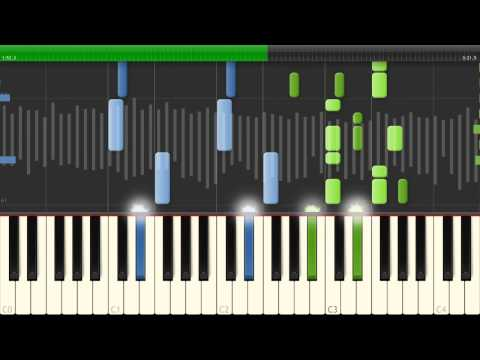 Synthesia: Zedd - Clarity (Acoustic Version) 1440p