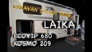 Wohnmobile LAIKA - neue KOSMO-Baureihe für Einsteiger - Caravan Salon Düsseldorf 2018