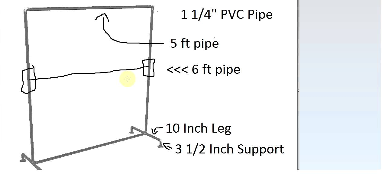 How To Build A Cheap Diy Clothing Rack Youtube