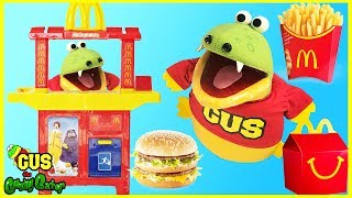 McDonald's Drive Thru Prank and McDonald's Indoor Playground for Kids Happy Meal Surprise Toys thumbnail