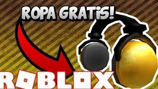ROBLOX PROMO CODE 24K GOLD AUDIFONOS CODE (ENGLISH) (FREE CLOTHING)