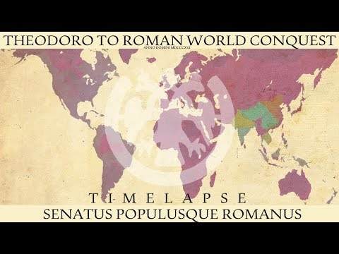 EU4 Timelapse: Theodoro to Roman Empire World Conquest |