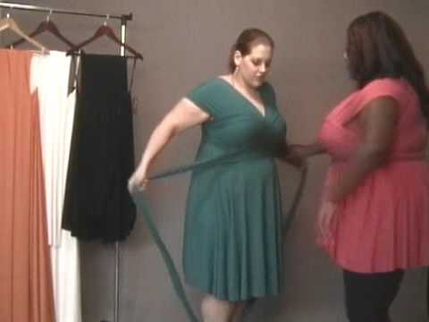 Monif C. Plus Sizes Marilyn Convertible Dress Video #2 - YouTube