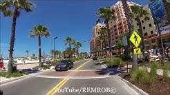Driving Clearwater Beach, Florida Spring Break