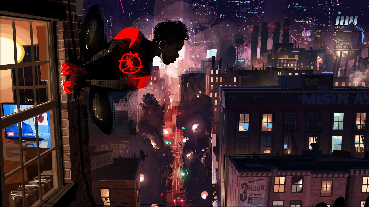 Wallpaper Engine Into The Spider Verse Updated Youtube