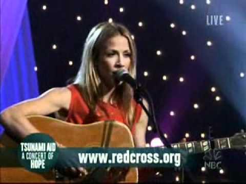 "Sheryl Crow - ""Wildflower"" - live - Tsunami Aid 2005"