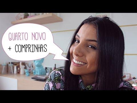 QUARTO NOVO + COMPRINHAS DOS EUA
