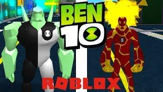 NEW ROBLOX BEN 10 GAME! Ben 10 Arrival of Aliens Pre Alpha