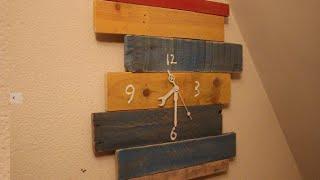 Make A Pallet Wood Clock