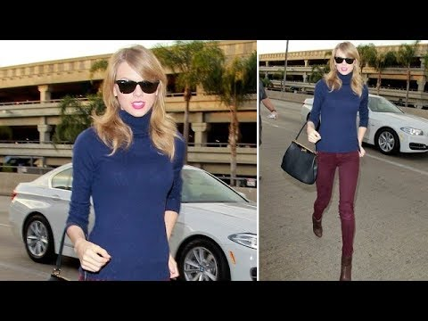 Everything Ok? Taylor Swift Hits LAX Looking Very Thin [2014]