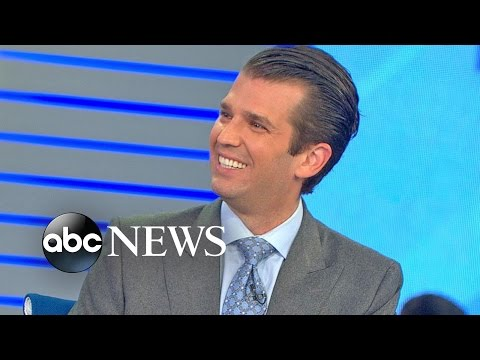 Donald Trump Jr. FULL INTERVIEW on Father's Election Day Prospects
