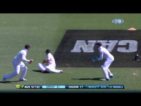 Ashes 2013-14: Highlights from the opening day of the first Test as Stuart Broad takes five wickets in Brisbane