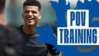 England U21 Training: Solanke, Tomori & Foden Point of View! | Inside Training | England U21
