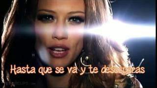 Hilary Duff - Play With Fire (Subtitulado en Español)