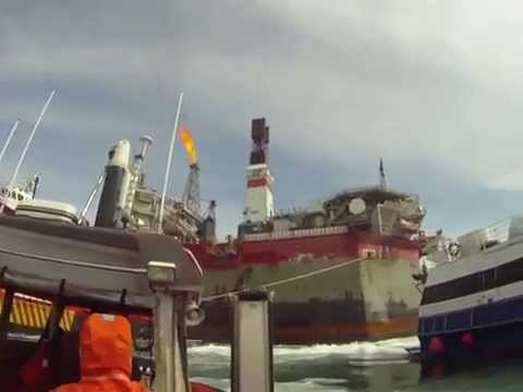 "GoPro Video - Offshore Work at Sakhalin ""Russia"" ""2010"""