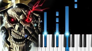 "Overlord III Opening - ""VORACITY"" - Easy Piano Tutorial"