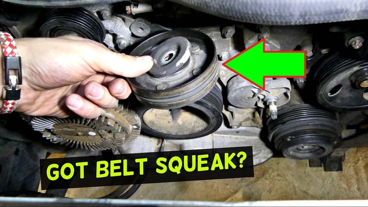 318 Engine Pulley Diagram How To Fix Squeaky Belt Pulley Engine Noise Squeak Youtube