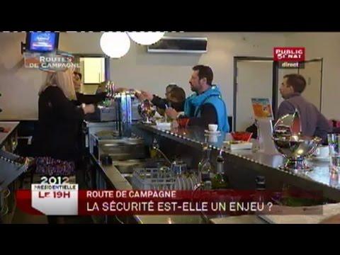 Invitée : Michèle Rivasi - Le 19H (10/04/2012)