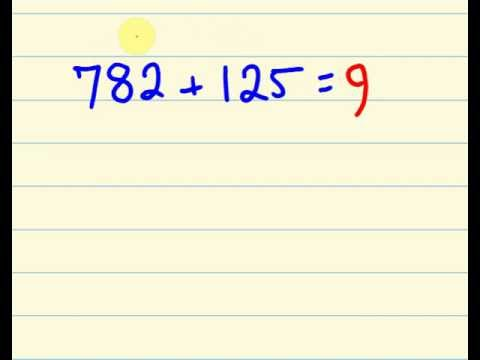 Maths trick for fast addition add faster than a calculator