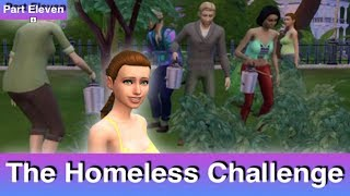 The Sims 4: Homeless Challenge // There Are Some Good Sims (Part 11)