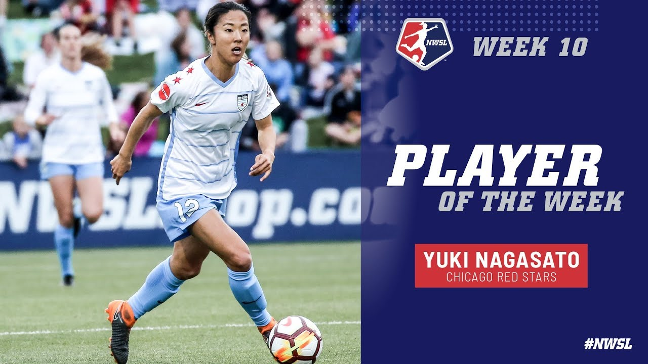 Week 10 Player of the Week | Yuki Nagasato, Chicago Red Stars - YouTube