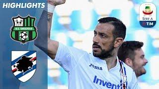 Sassuolo 3-5 Sampdoria | Trionfo in trasferta: segnano in CINQUE, tra cui Quagliarella! | Serie A