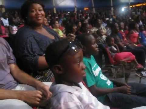 The boys went to the circus! Ghana, April 2012