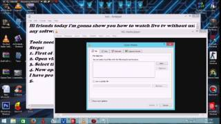 How to watch live tv in computer