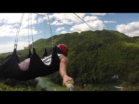 Zipline (full video) - Loboc, Bohol Philippines