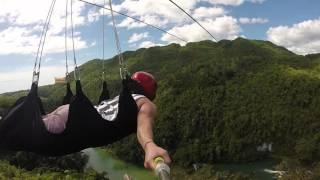 zipline full video loboc bohol philippines